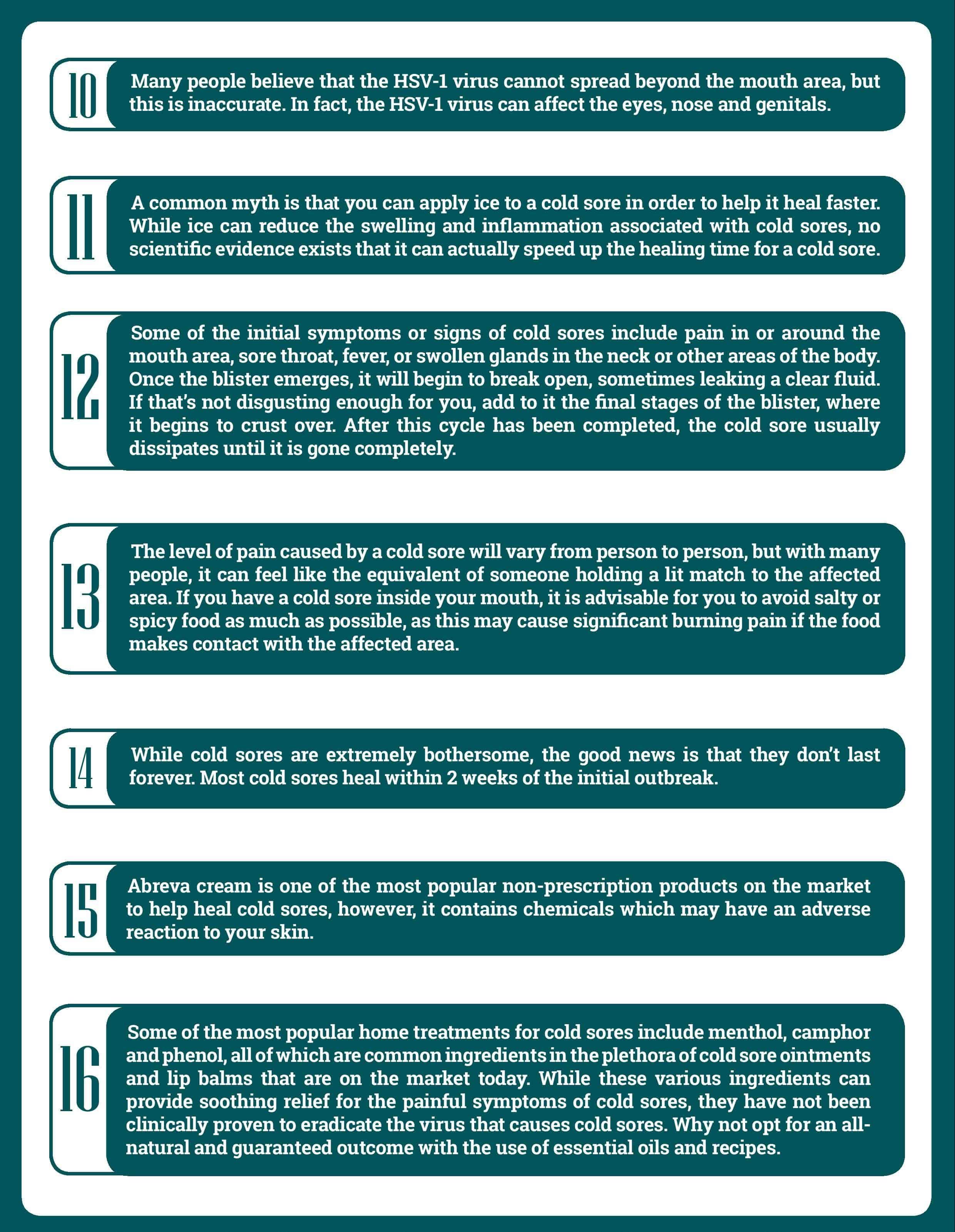 8 Essential Oil Recipes For Cold Sore Relief | Essential Oil