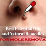 Essential Oils for mole removal