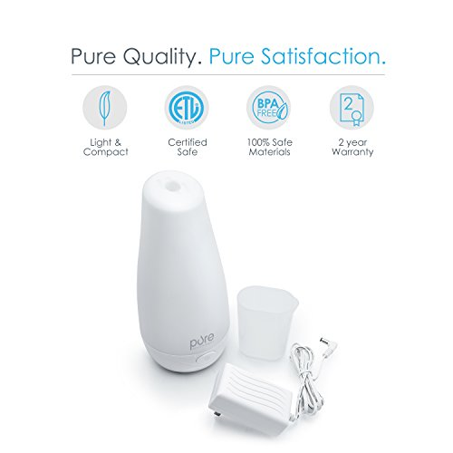 PureSpa Essential Oil Diffuser Review Essential Oil Benefits