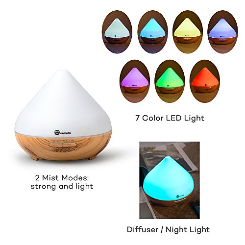TaoTronics 300ml Essential Oil Diffuser Review Essential Oil Benefits