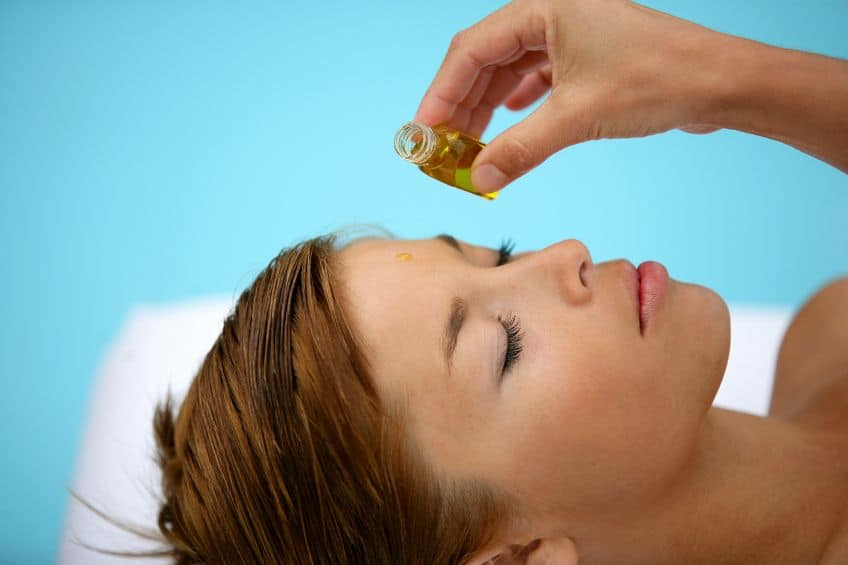 essential oil facial treatment for dry skin