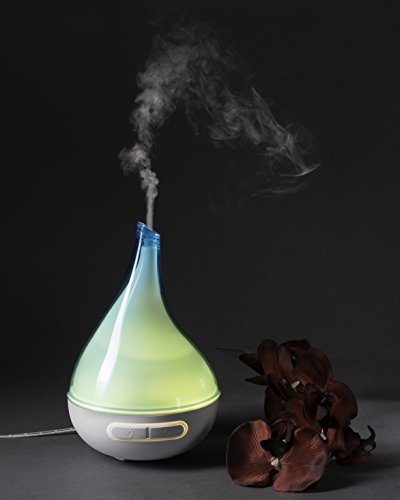 QUOOZ Lull Ultrasonic Essential Oil Diffuser Review Essential Oil Benefits