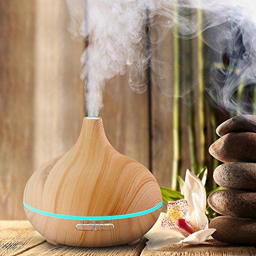 VicTsing 300ml Cool Mist Humidifier And Ultrasonic Aroma Essential Oil Diffuser Review Essential Oil Benefits
