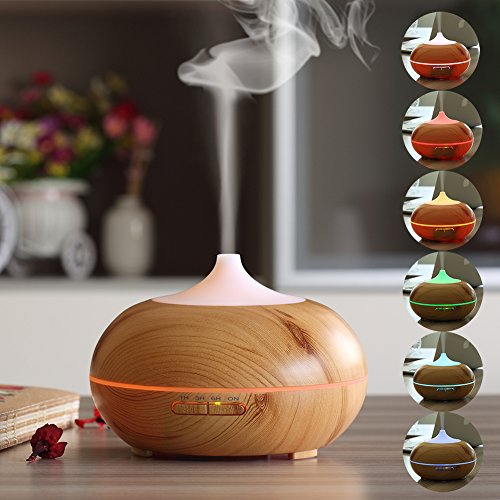 URPOWER 300ml Essential Oil Diffuser Review Essential Oil Benefits