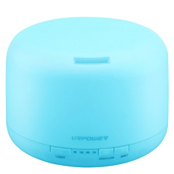 urpower ultrasonic 500ml essential oil diffuser review essential oil benefits