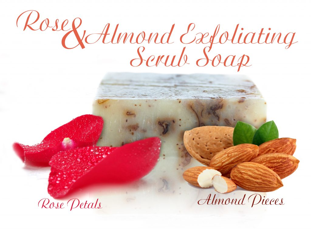 l'orpur rose almond soap