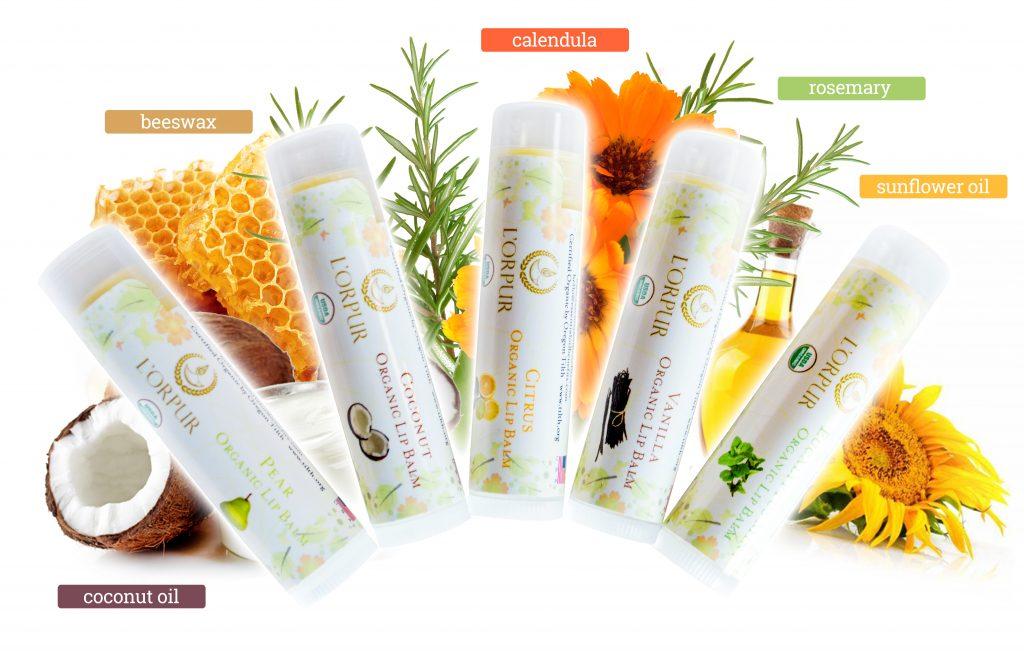 L'orpur Organic Lip Balm