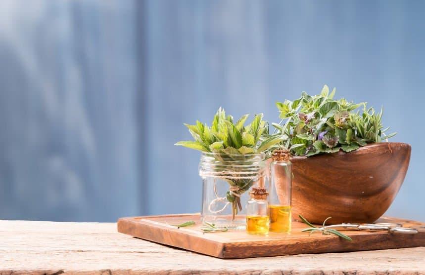 essential oils for strep throat