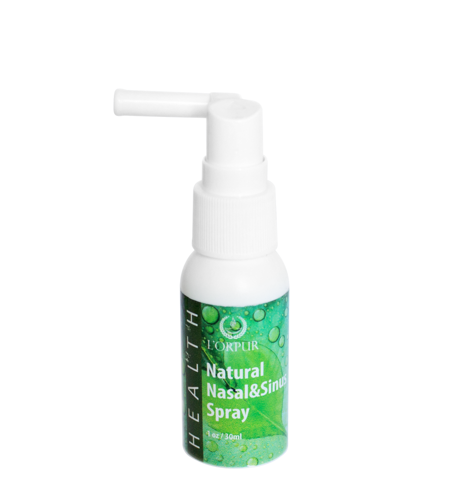 L'orpur Nasal & Sinus Spray and Soothing Throat & Gum Spray Essential Oil Benefits
