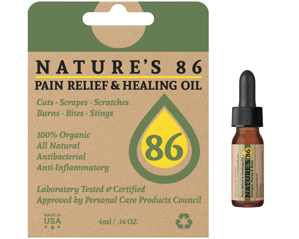 Product Review for Nature's 86 Pain Relief and Healing Oil Essential Oil Benefits