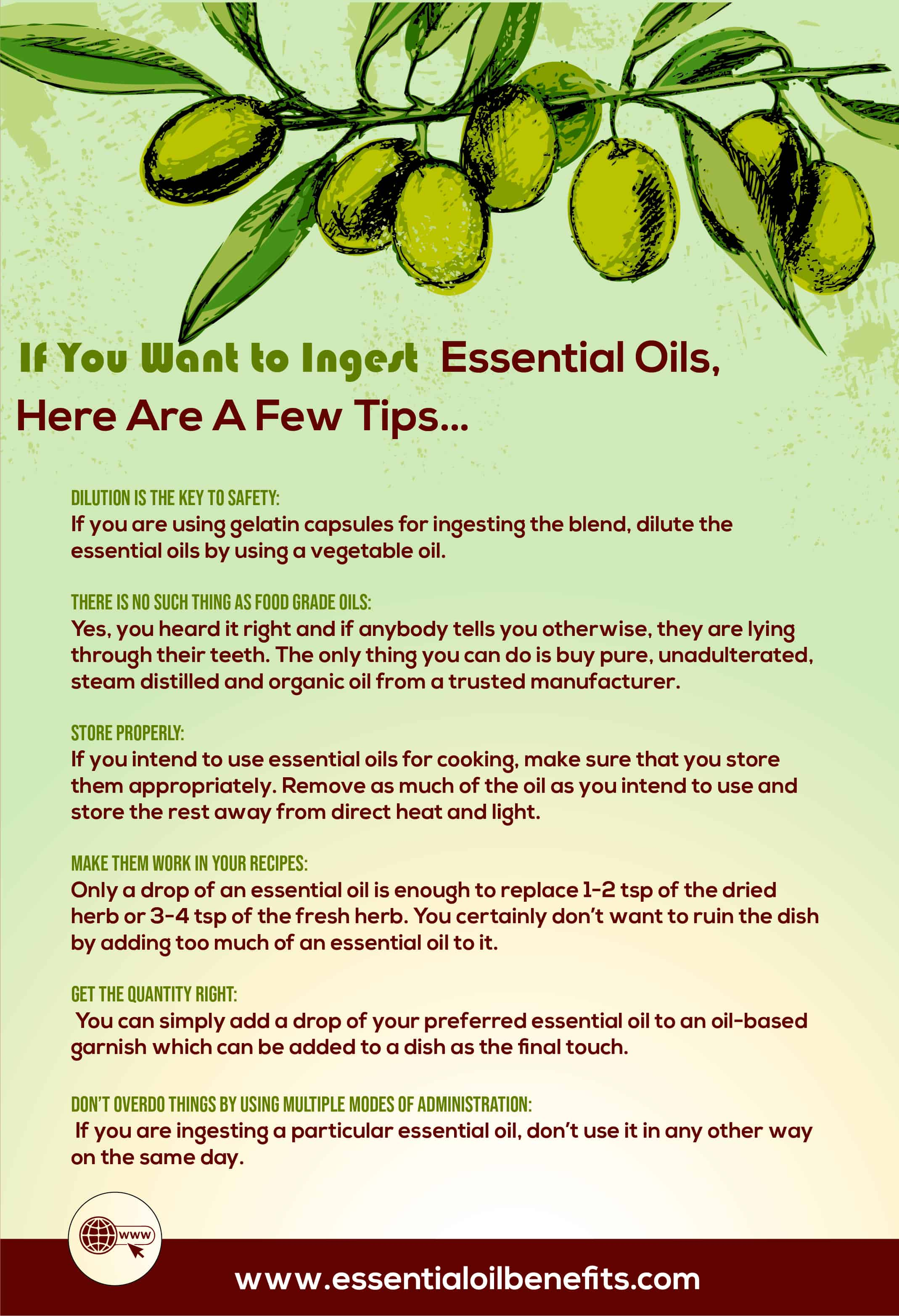 The Truth About Food Grade Essential Oils: How Safe Is It To Use Them? Essential Oil Benefits