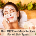 diy face mask recipes for all skin types