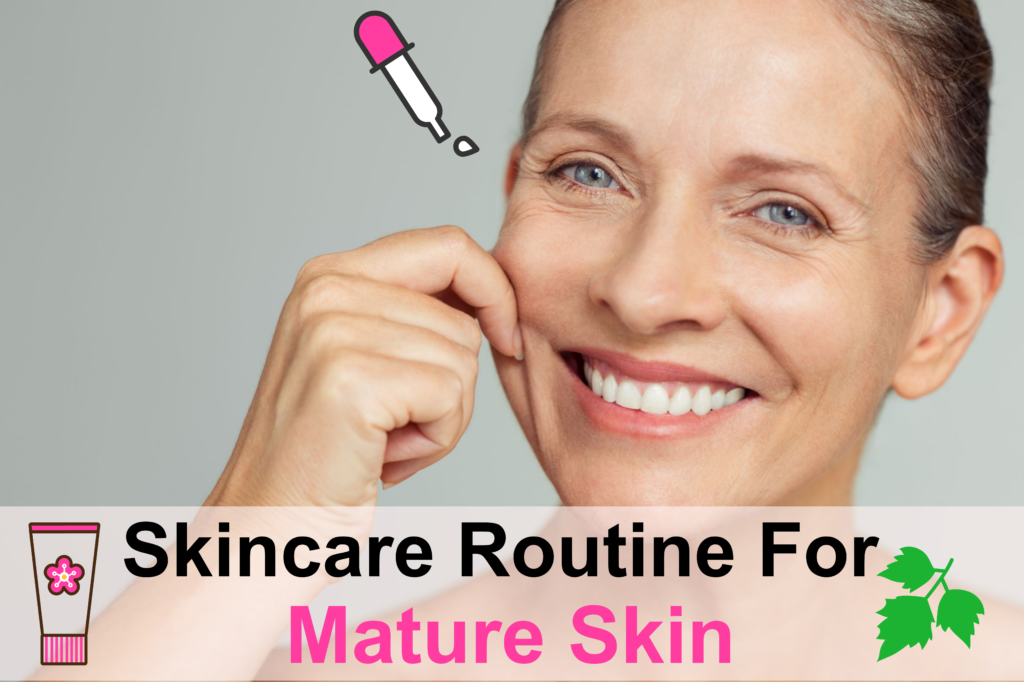 With The Right Skincare Routine, You Can Turn Back Time For Your Mature Skin! Essential Oil Benefits