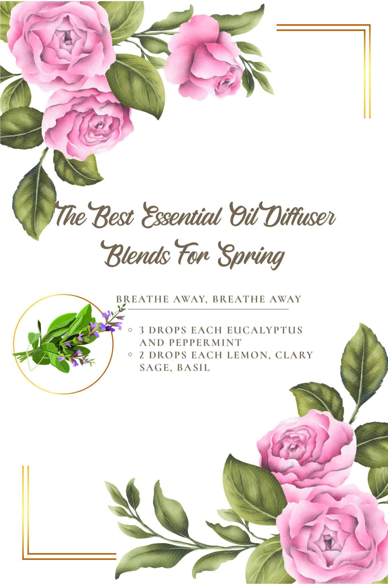 Best Essential Oils For Spring Essential Oil Benefits